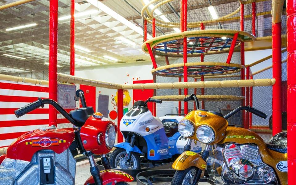 La piste des motos