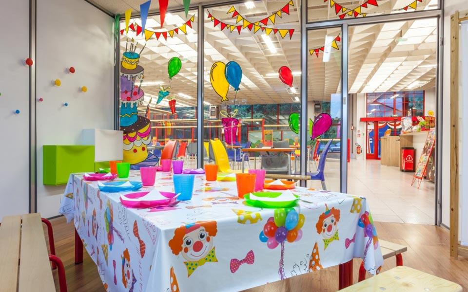 Salle d'anniversaire