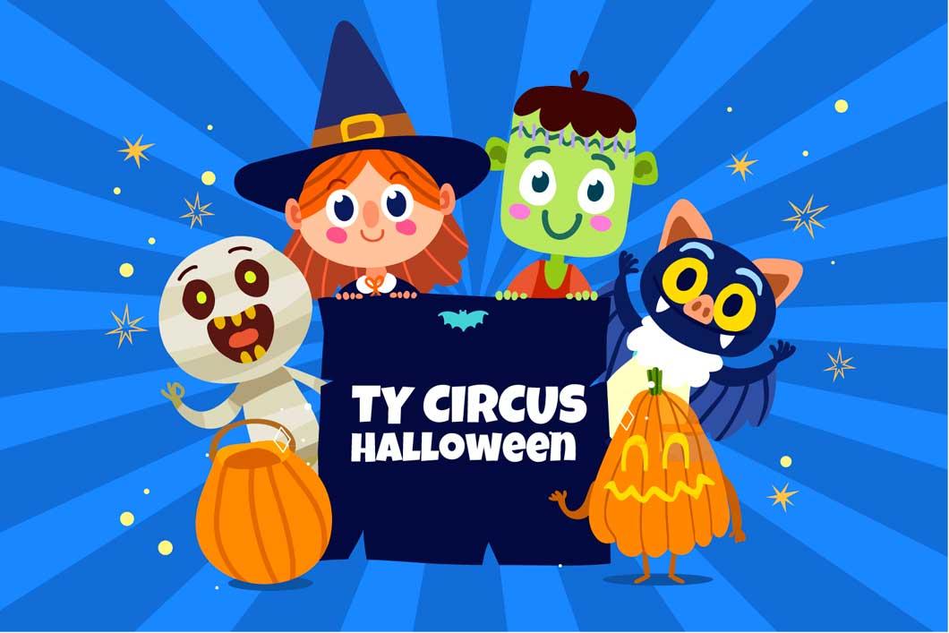 Halloween à Ty Circus